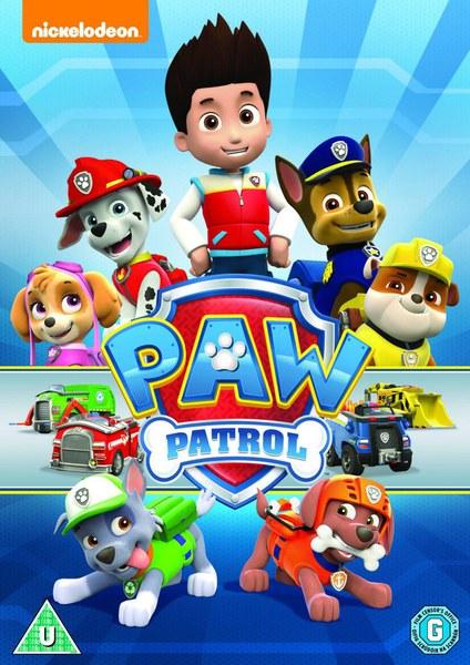 Paw Patrol Dvd Zavvi