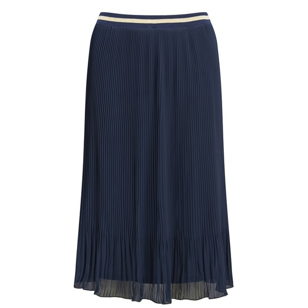 only s lill pleated skirt navy blazer womens