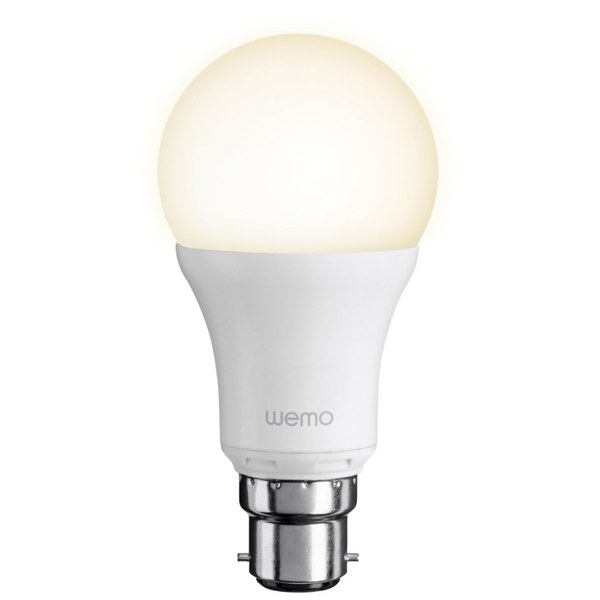 Belkin wemo led single light bulb bayonet homeware Smart light bulbs