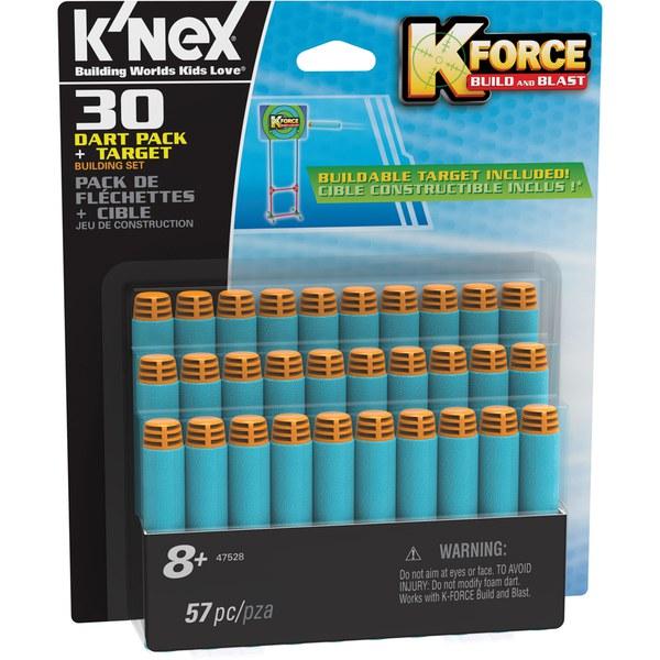 K'NEX K Force 30 Dart Pack and Target (47528)