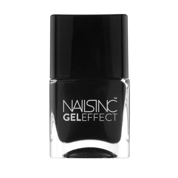 nails inc. Black Taxi Gel Effect Nagellack (14 ml)