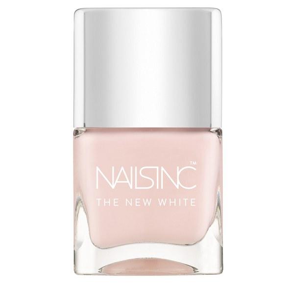 nails inc. Whitehall The New White Nail Varnish (14ml)