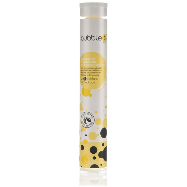 Bubble T Bath and Body Fizzy Bath Bomb (Tube) in Lemongrass and Green Tea: Image 01