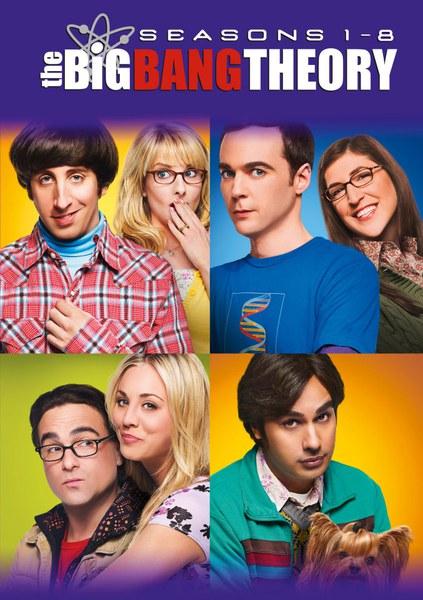 The Big Bang Theory - Seasons 1-8