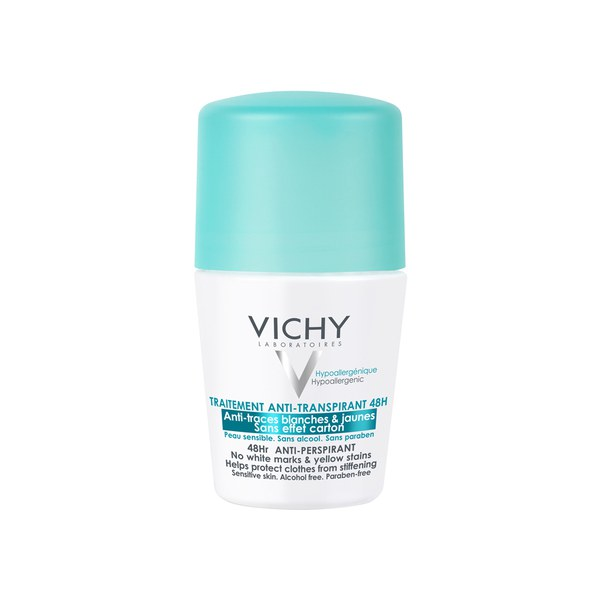 Vichy Deodorant 48Hour Aerosol 'No Marks' Anti-Perspirant 125ml