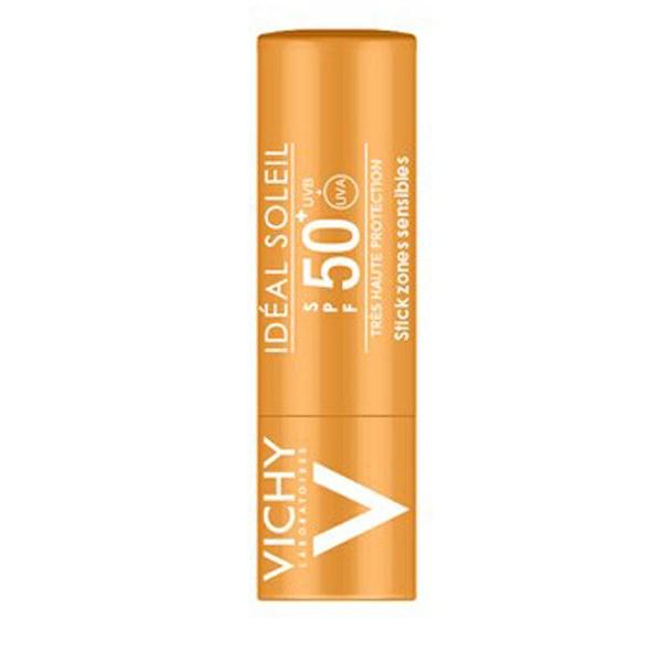Barra de protección UVA, factorSPF 50+ Vichy Ideal Soleil, barra de9g