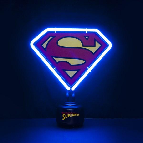 Superman DC Comics Mini Neon