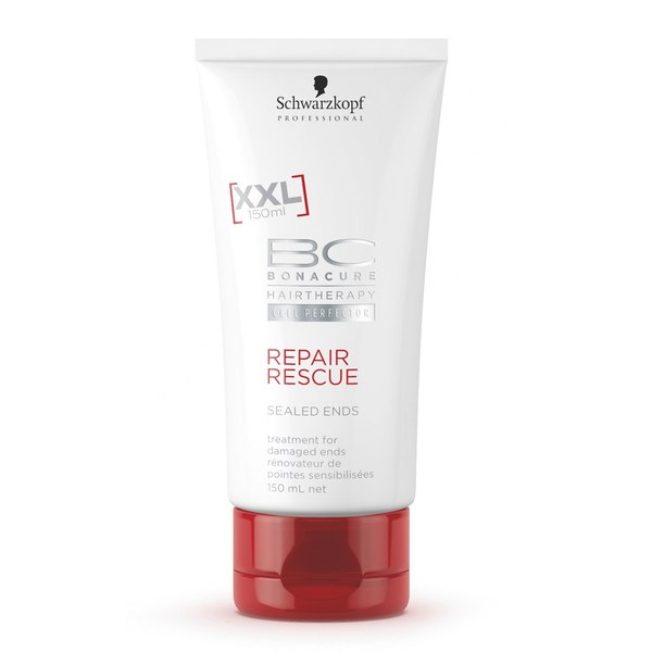 schwarzkopf bc hairtherapy repair rescue sealed ends 75ml. Black Bedroom Furniture Sets. Home Design Ideas