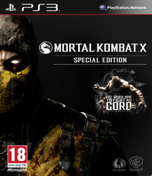 Mortal Kombat X Special Edition Ps3 Zavvi