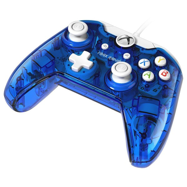 Vibration In Foot >> Rock Candy Blueberry Boom Wired Xbox One Controller Games ...