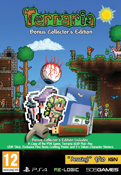Terraria Bonus Collector S Edition Ps4 Zavvi