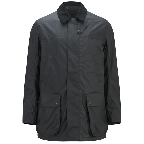 Knutsford Men's 'Made in England' Dry-Waxed Shooting Jacket - Black