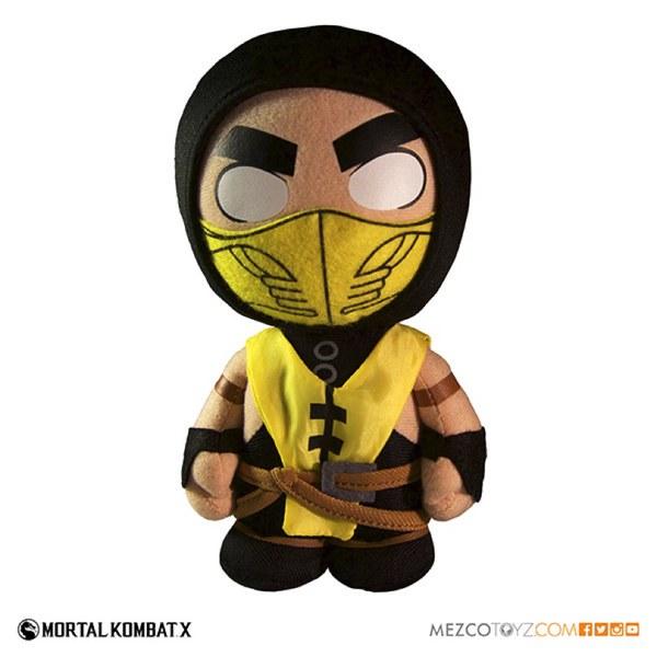 Mortal Kombat X Scopian Plush Figure