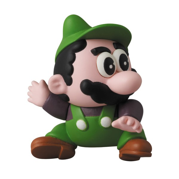Nintendo Series 2 Mario Bros. Luigi Mini Figure