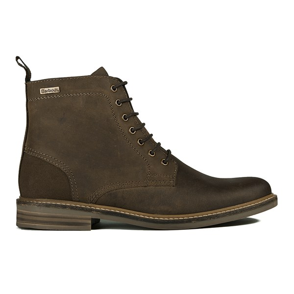 barbour s byker leather lace up boots brown