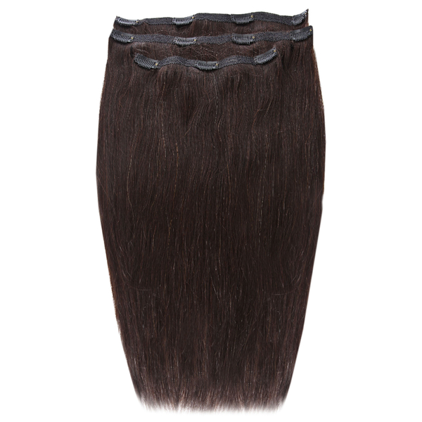 Beauty Works Deluxe Clip-In-Hair-Extensions 18 Zoll - Ebenholz1B