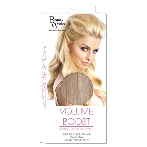 Beauty Works Volume Boost Hair-Extensions - 613/18 Champagne Blonde