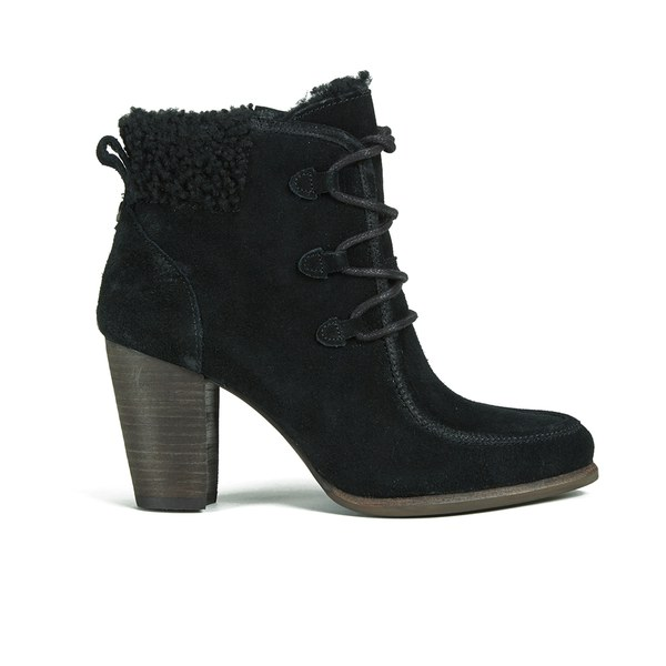 ugg australia s analise lace up heeled ankle boots