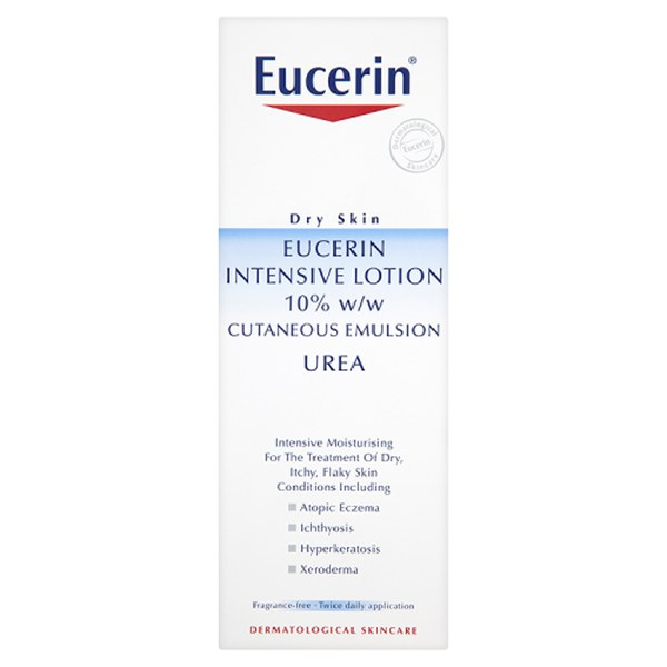 Eucerin® Dry Skin Intensive Lotion 10% w/w Cutaneous Emulsion Urea (250ml)