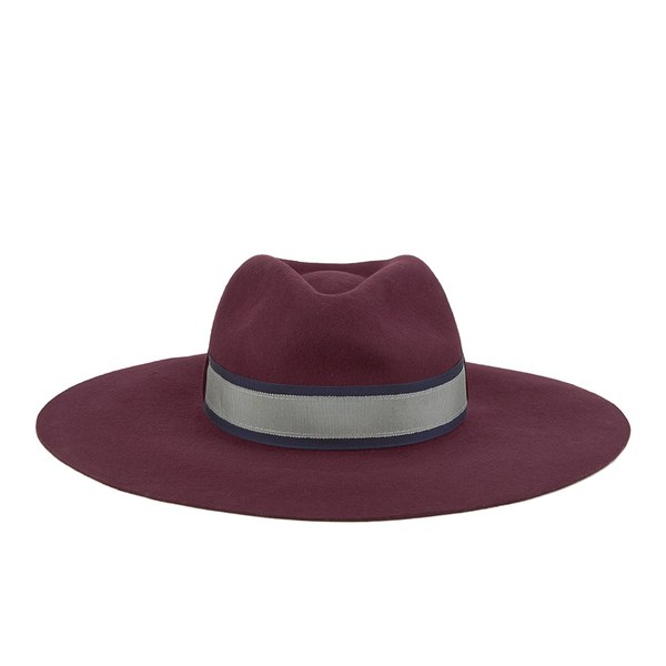 paul smith accessories s wool felted fedora hat