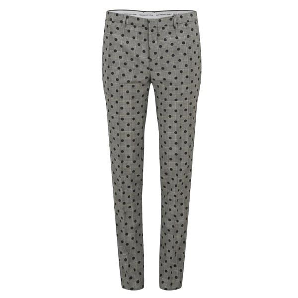 Each X Other Women's Prince of Wales Polka Dot Pants - Black/White