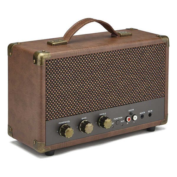 GPO Retro Westwood Bluetooth Speaker - Brown Electronics