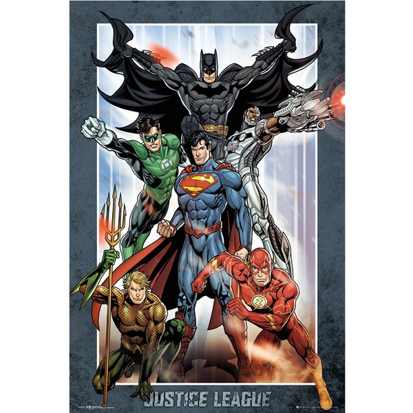 DC Comics Justice League Group - 24 x 36 Inches Maxi Poster