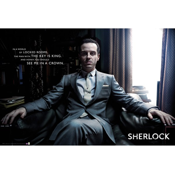 Sherlock Moriarty Chair - 24 x 36 Inches Maxi Poster