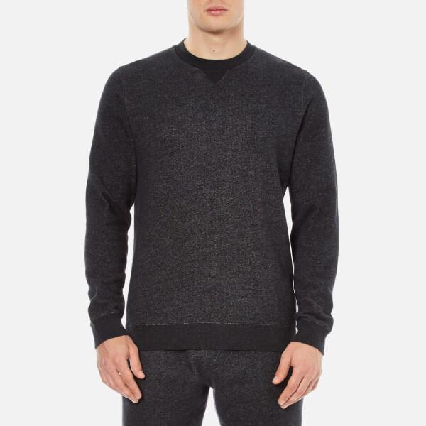 Derek Rose Men's Dorset 1 Sweatshirt - Charcoal