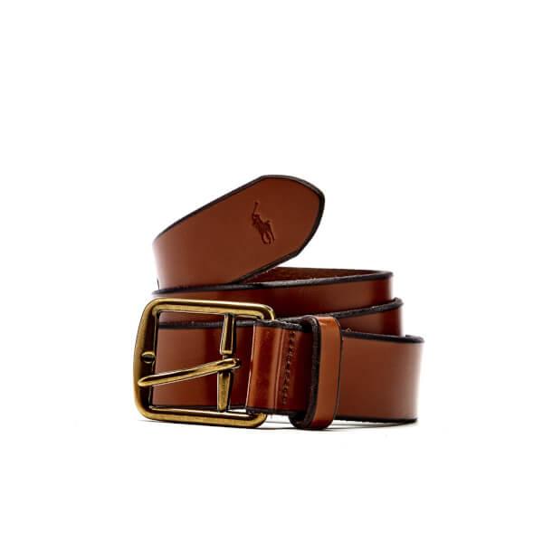 Polo Ralph Lauren Men's Casual Belt - Saddle Brown