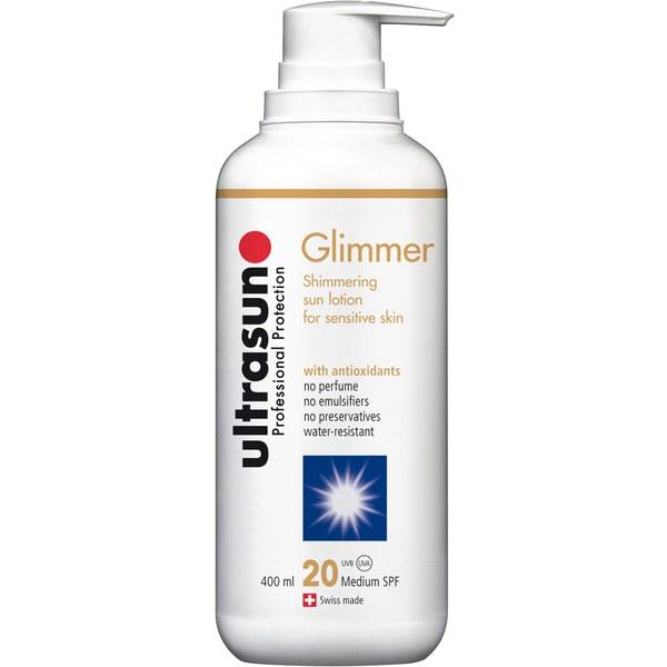 Ultrasun 20 SPF Glimmer (400ml)