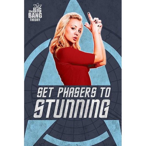 Big Bang Theory Phasers - 24 x 36 Inches Maxi Poster