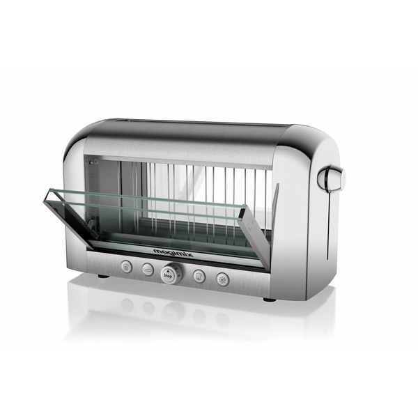 magimix 2 slice vision toaster black iwoot. Black Bedroom Furniture Sets. Home Design Ideas
