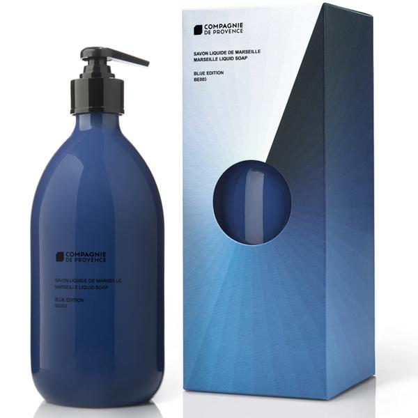 Compagnie de Provence Flüssige Marseille Soap Be003 - Mediterranean Sea Depth (500 ml)