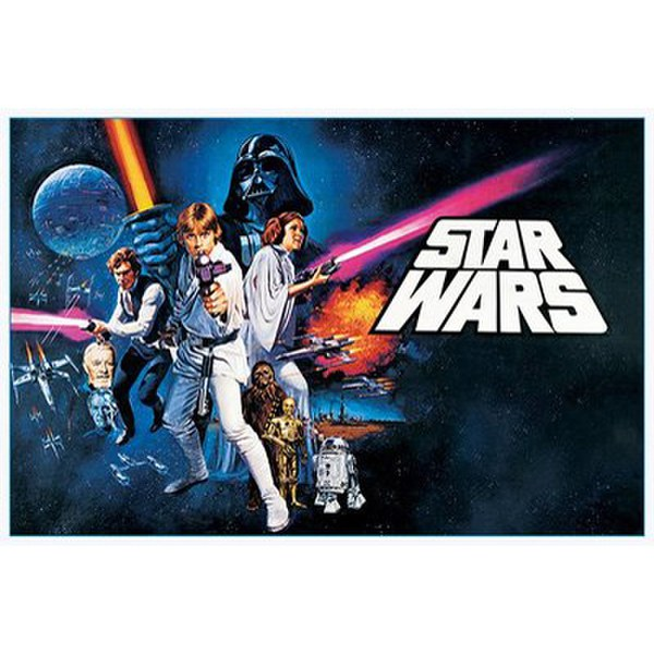 Star Wars A New Hope Landscape - 24 x 36 Inches Maxi Poster