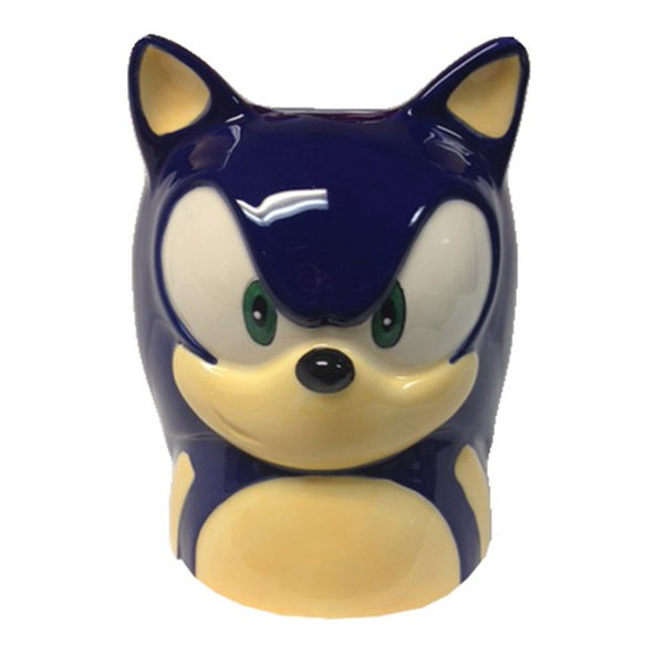 Sonic The Hedgehog Face Mug Traditional Gifts Zavvi