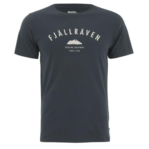 Fjallraven Men's Trekking Equipment T-Shirt - Dark Navy