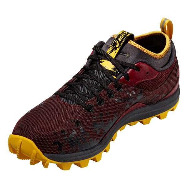 NEW Asics Gel-Nimbus 15 Men's Running Shoes Storm Black ... |Maroon And Yellow Asics Shoes