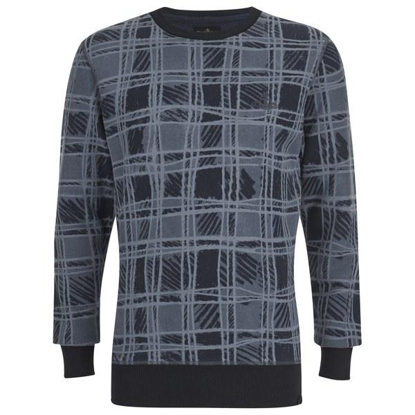 Vivienne Westwood Anglomania Men's Classic Sweatshirt - Tartan Blue