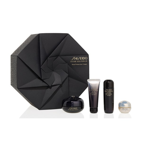 Shiseido Future Solutions LX coffret de vacances crème pour yeux et lèvres