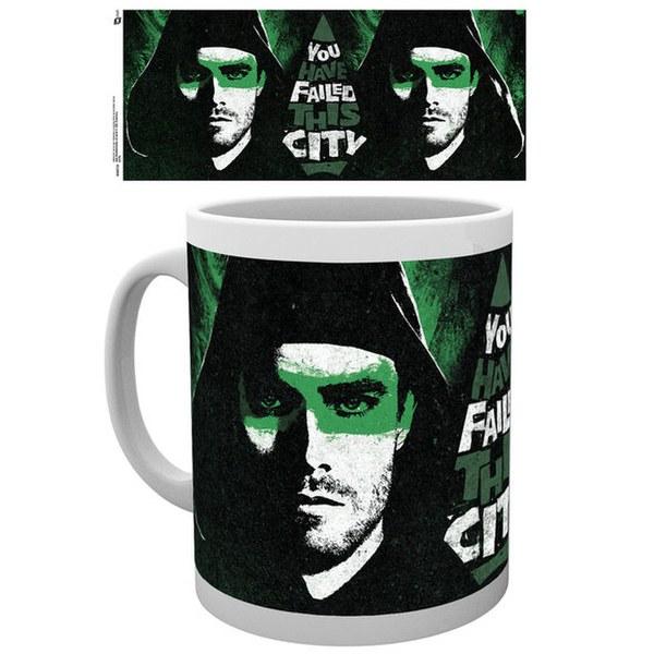 DC Comics Arrow You Failed This City - Mug