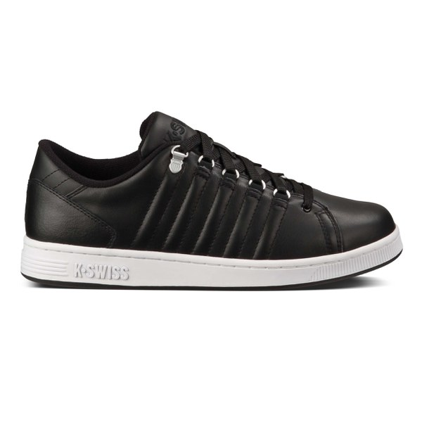 k swiss men 39 s lozan iii trainers black white clothing. Black Bedroom Furniture Sets. Home Design Ideas