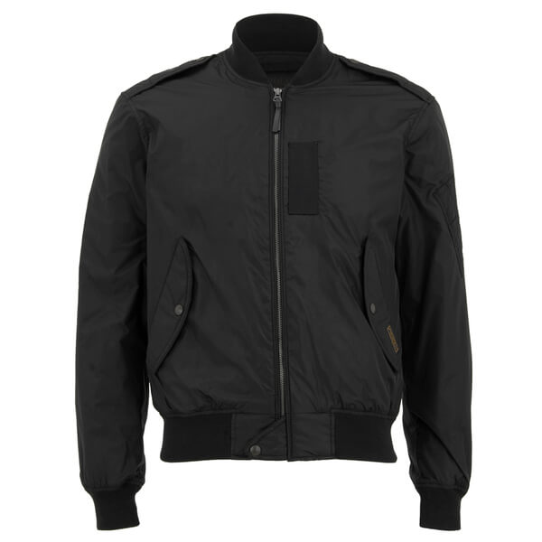 Polo Ralph Lauren Men's Zipped Bomber Jacket - Black