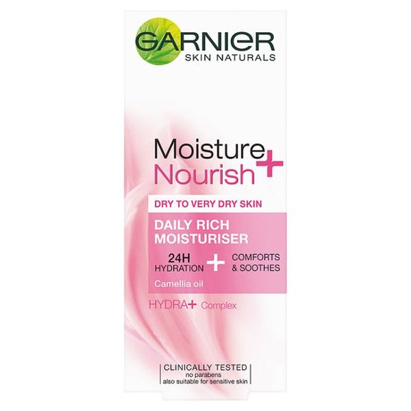 Garnier Moisture+ Nourish Daily Rich Moisturiser (50ml)