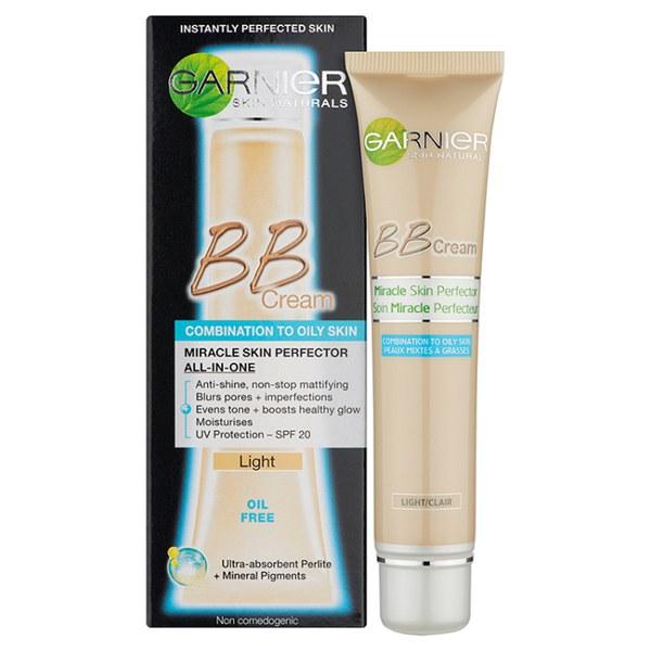 garnier oil free light bb cream 40ml free shipping lookfantastic