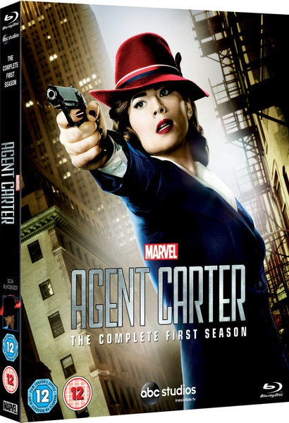 Agent Carter Toys : Marvel s agent carter season blu ray thehut