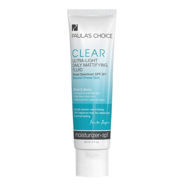 Paula's Choice Clear Ultra-Light Daily Mattifying Fluid SPF 30+ (60ml)
