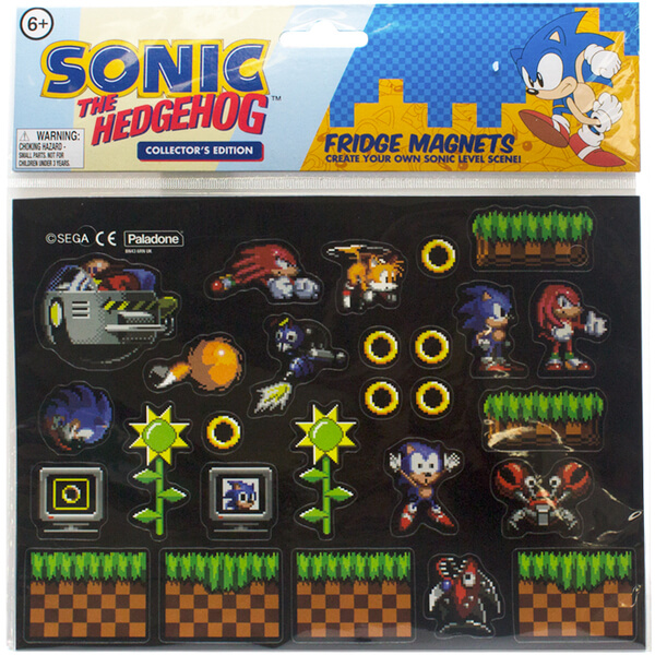 Sonic the Hedgehog Collectors Edition Fridge Magnets