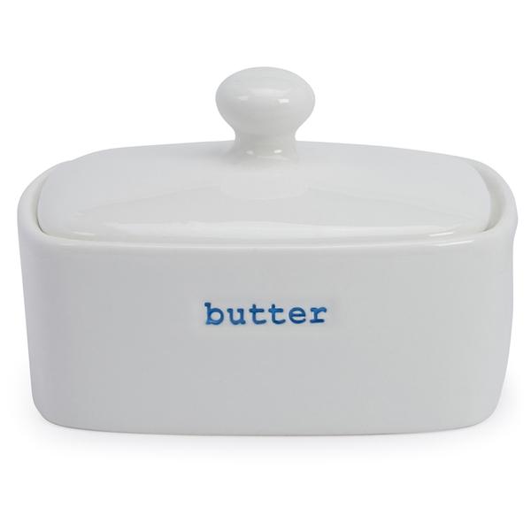 Keith Brymer Jones Butter Dish - White