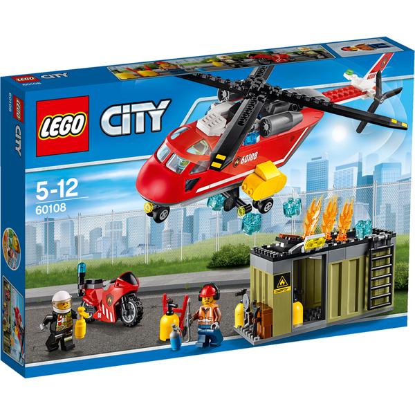 LEGO City: Fire Response Unit (60108)